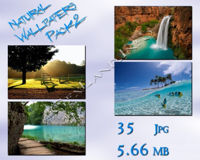 Natural wallpapers pack2