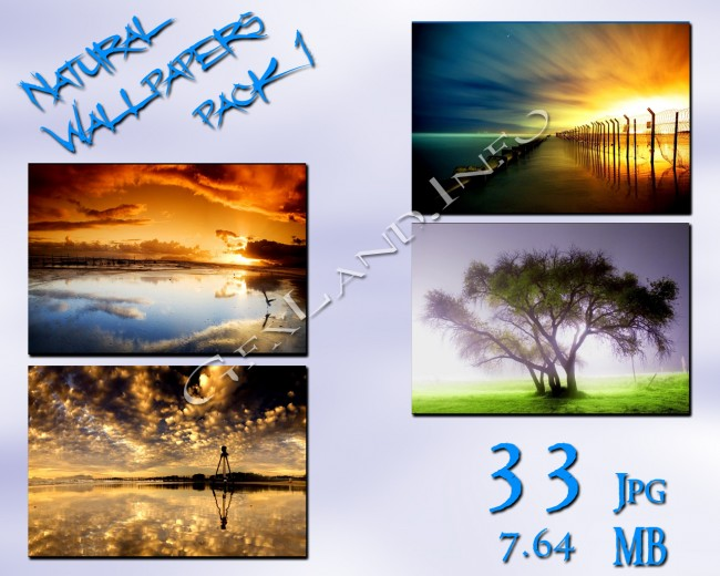 natural wallpapers pack1