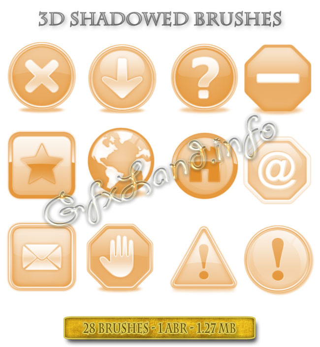 3D_Shadowed_Brushes