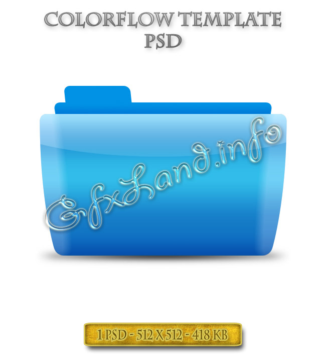 Colorflow Template PSD