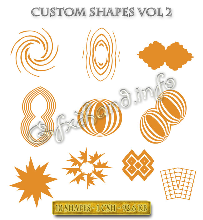 Custom Shapes Vol 2