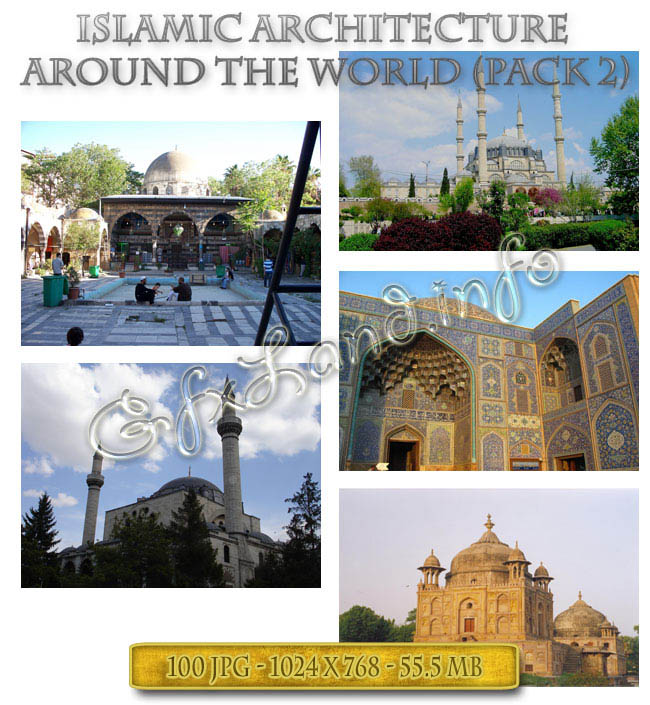 Islamic Architecture Around the World (Pack-2)