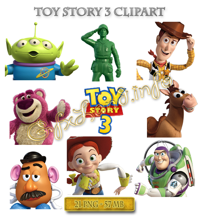 Toy Story 3 Clipart